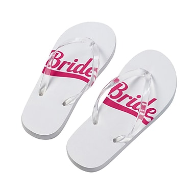 Lillian Rose Bride Flip Flops - Small (FF672 SB)