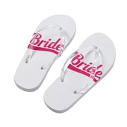 Lillian Rose Bride Flip Flops - Large  (FF672 LB)