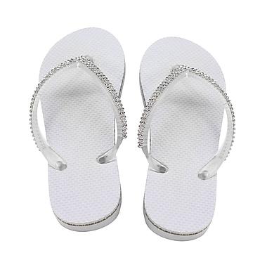 Lillian Rose Rhinestone Flip Flops - Small (FF190 WS)