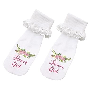 Lillian Rose Flower Girl Socks (SK185 FG)