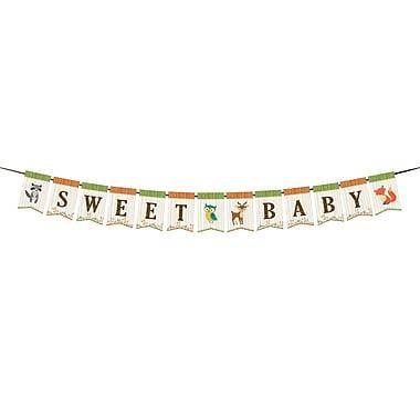 Lillian Rose Woodland Baby Shower Bunting (24BS230 BU)