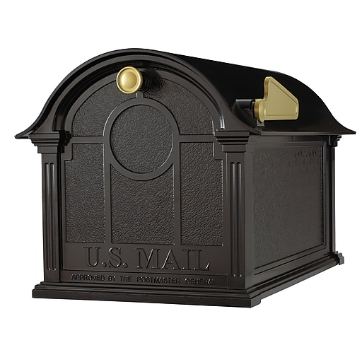 Whitehall Products Balmoral Mailbox - Black (16228)
