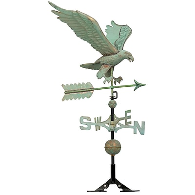 Whitehall Products Copper Eagle Weathervane - Verdigris (45038)