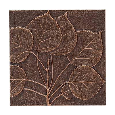 Whitehall Products Aspen Leaf Wall Decor - Antique Copper (10244)