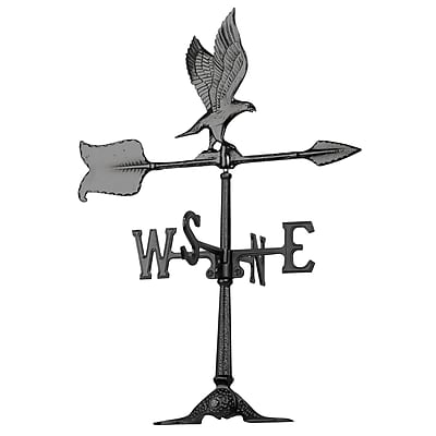 Whitehall Products 24 Eagle Accent Weathervane - Black (68)
