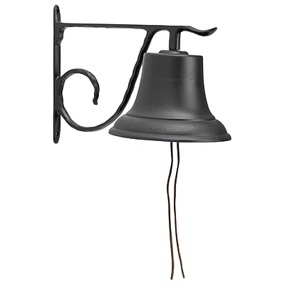 Whitehall Products Large Country Bell - Black (00604)