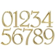 Whitehall Products Classic 6 Inch Number 0 Polished Brass (11100)