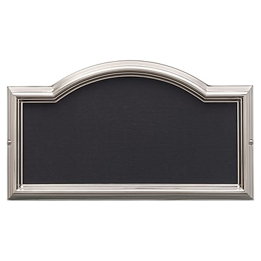Whitehall Products Design-it 4 Arch Plaque Brushed Nickel (11201)