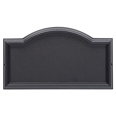 Whitehall Products Design-it 4 Arch Plaque Black (12790)