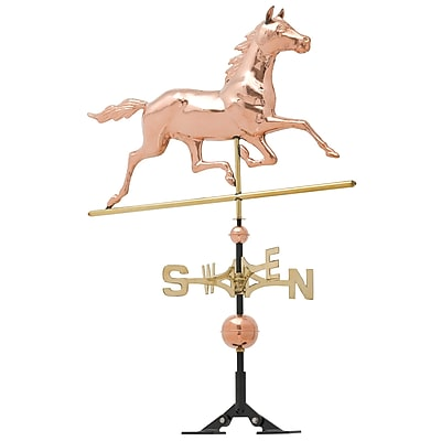 Whitehall Products Copper Horse Weathervane - Polished (45031)
