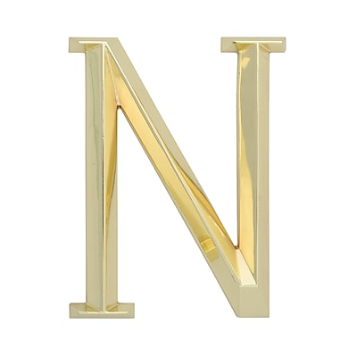 Whitehall Products Classic 6 Inch Letter - N - Brass (11170)