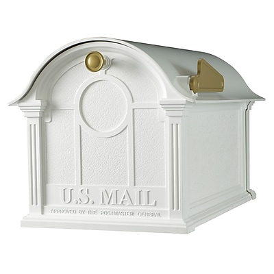 Whitehall Products Balmoral Mailbox - White (16231)