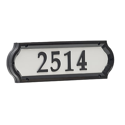 Whitehall Products Nite Bright Richfield Home Address Sign (14137)