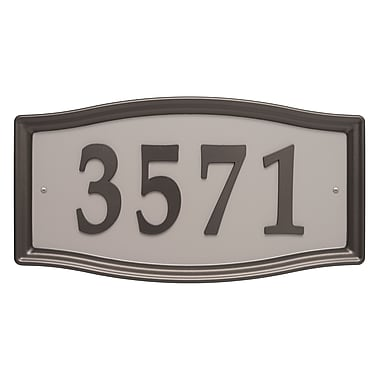 Whitehall Products Easy Street Address Sign (11198)