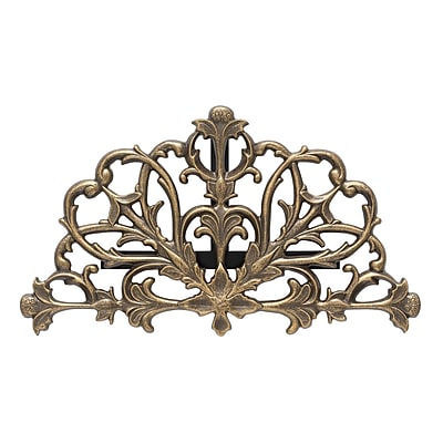 Whitehall Products Filigree Hose Holder - French Bronze (00939)