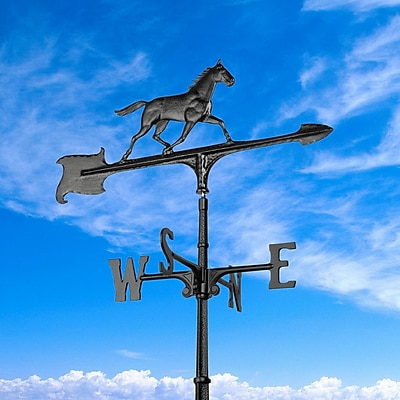 Whitehall Products 30 Horse Accent Weathervane - Black (00074)