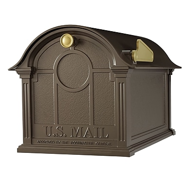 Whitehall Products Balmoral Mailbox - Bronze (16229)