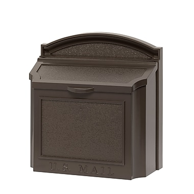 Whitehall Products Wall Mailbox - Bronze (16138)