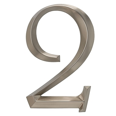 Whitehall Products Classic 6 Inch Number 2 Polished Nickel (11092)