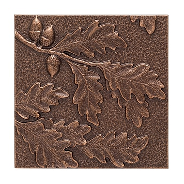 Whitehall Products Oak Leaf Wall Decor - Antique Copper (10246)