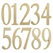 "Whitehall Products 4.75"" Number 0 Satin Brass (11210)"
