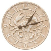 Whitehall Products Crab Sealife Clock (10431)