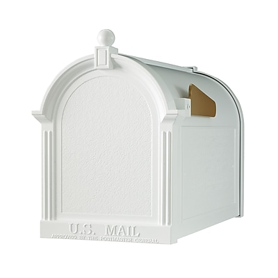 Whitehall Products Capitol Mailbox - White (16001)