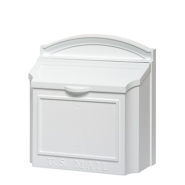 Whitehall Products Wall Mailbox - White (16139)