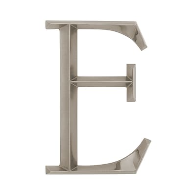 Whitehall Products Classic 6 Inch Letter - E - Nickel (11088)