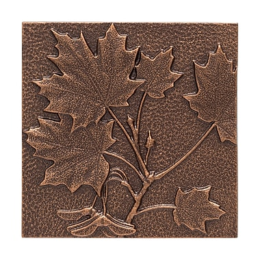 Whitehall Products Maple Leaf Wall Decor - Antique Copper (10243)