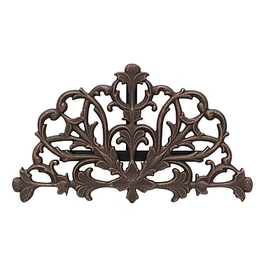 Whitehall Products Filigree Hose Holder - Oiled-Rubbed Bronze (00453)