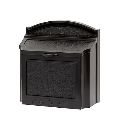 Whitehall Products Wall Mailbox - Black 16140