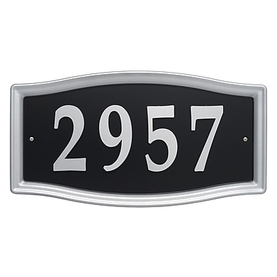 Whitehall Products Easy Street Address Sign (11199)