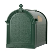 Whitehall Products Capitol Mailbox - Green (16060)