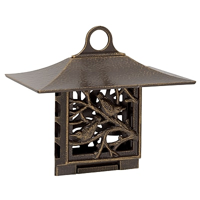 Whitehall Products Nuthatch Suet Feeder - French Bronze (01363)