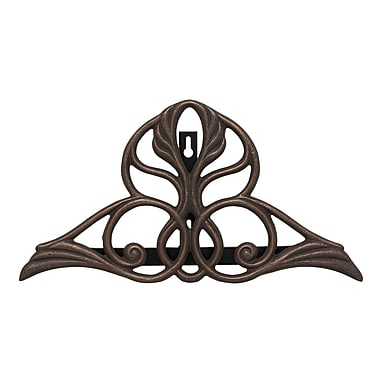 Whitehall Products Victorian Hose Holder - Oiled-Rubbed Bronze (00469)