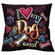Spoontiques I Heart My Dog Pillow (19612)