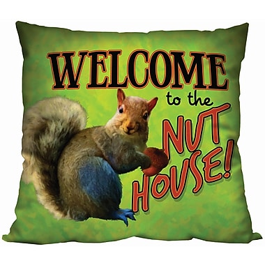 Spoontiques Nut House Pillow (19652)