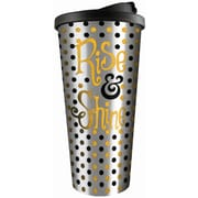 Spoontiques Rise & Shine Stainless Travel Mug (20805)