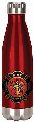 Spoontiques Firefighter 18oz Stainless Steel Bottle (20619)