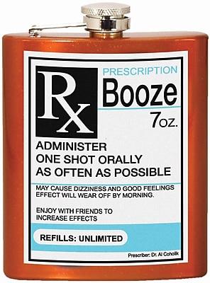 Spoontiques Prescription Hip Flask (15641)