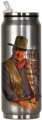 Spoontiques John Wayne™ 12oz Stainless Steel Beverage Can (20903)