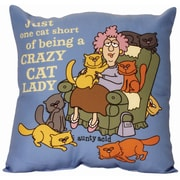 Spoontiques Aunty Acid™ Crazy Cat Lady Pillow (19601)