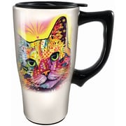 Spoontiques Dean Russo™ Cat Ceramic Travel Mug (12771)