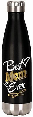 Spoontiques Best Mom Ever 18oz Stainless Steel Bottle (20612)