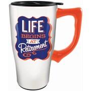 Spoontiques Retirement Ceramic Travel Mug (12779)