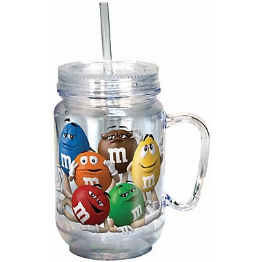 Spoontiques M&M's™ Characters 18oz Acrylic Mason Jar (17875)