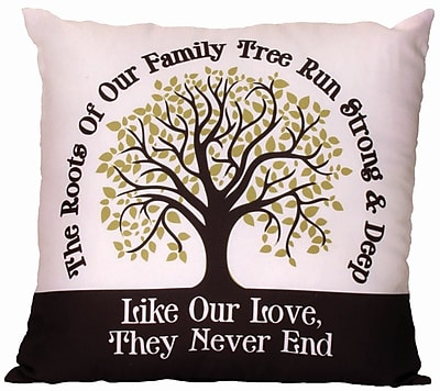 Spoontiques Family Tree Pillow (19613)