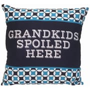 Spoontiques Grandkids Spoiled Here Pillow (19638)