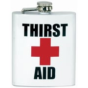 Spoontiques Thirst Aid Hip Flask (15770)